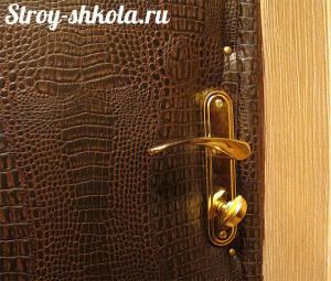 Чем утеплить входную металлическую дверь своими руками