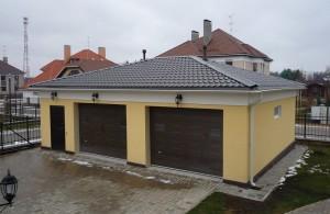 Четырехскатная крыша гаража