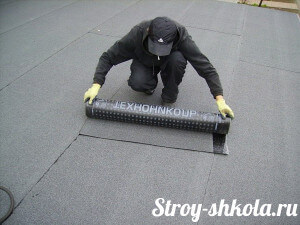 Делаем крышу из рубероида своими руками