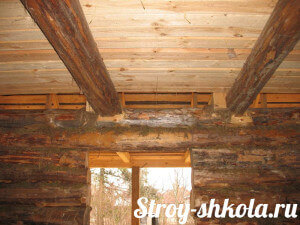 Технология подшивного утепления крыши бани