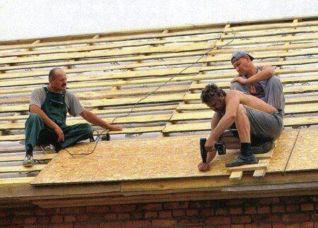 Крыша из мягкой черепицы своими руками