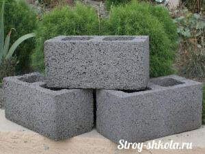 Керамзитобетонное блоки