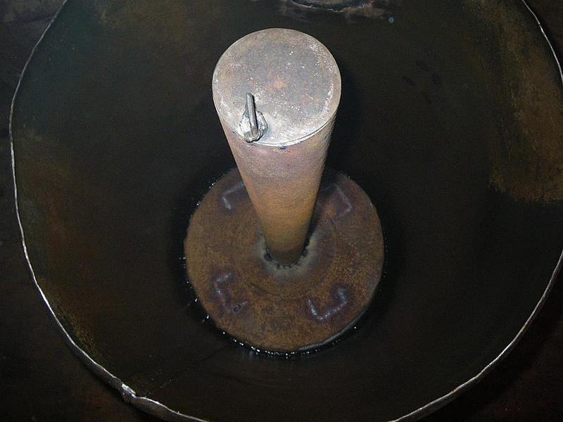 Печь бубафоня изнутри