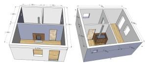 Схема проектирования бани