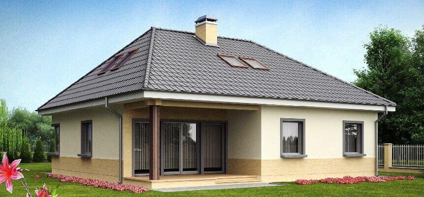 крыши четырехскатные фото