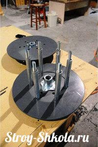 Процесс изготовления барабана для лебедки