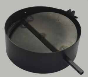 Вьюшка в дымовой трубе