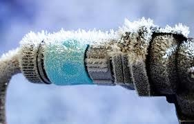Отрицательная температура может вывести из строя водопровод