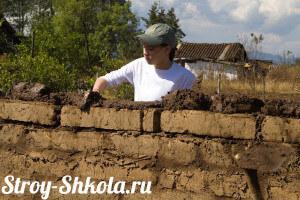 Технология строительства из саманного кирпича