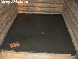 Утепляем бетонный пол