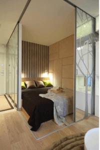 Дополнительная комната в в однокомнатной квартире