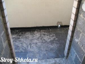 Гидроизоляция балкона - фото