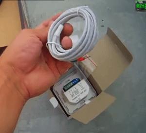 Кабель с датчиком температуры