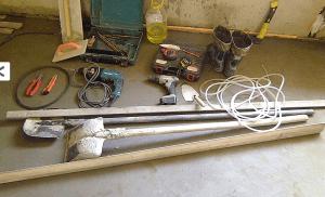 Необходимые инструменты для стяжки пола