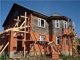 Облицовка дома фасадным кирпичом