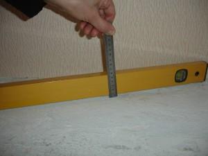 Определяем дефекты с помощью строительного уровня