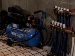 Проверяем систему водяного теплого пола на герметичность