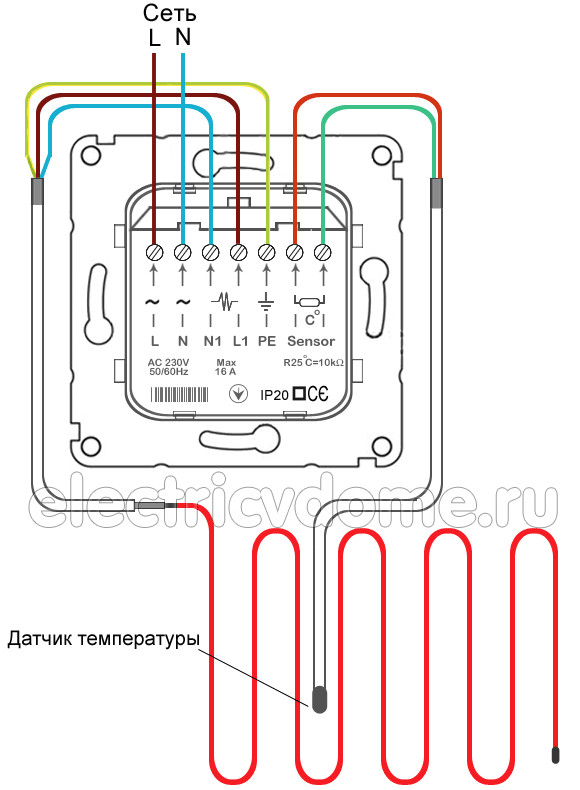 Терморегулятор схема термостата