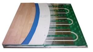Специальные плиты для труб водяного пола