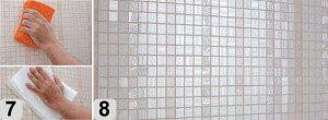 Укладка мозаичной плитки шаг 3