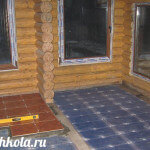 Электрический тёплый пол под плитку своими руками
