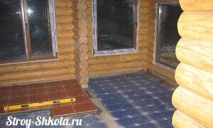 Укладка нагревательного кабеля на электрический пол