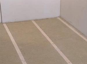 Укладка теплоизоляционных плит по всему полу
