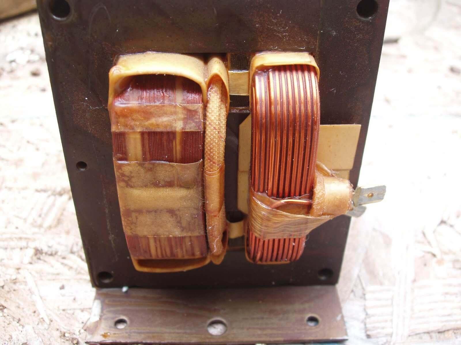 Ремонт понижающего трансформатора своими руками
