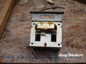 Подготавливаем трансформатор
