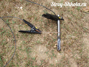 Провода и электрод