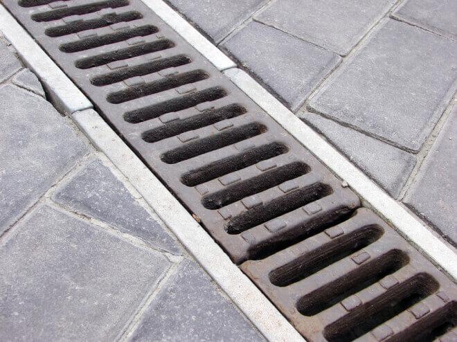 Лотки для ливневой канализации