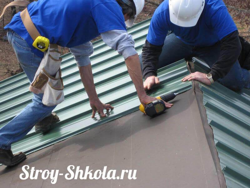 Крыша В Частном Доме Своими Руками Пошаговая Инструкция С Фото - фото 3