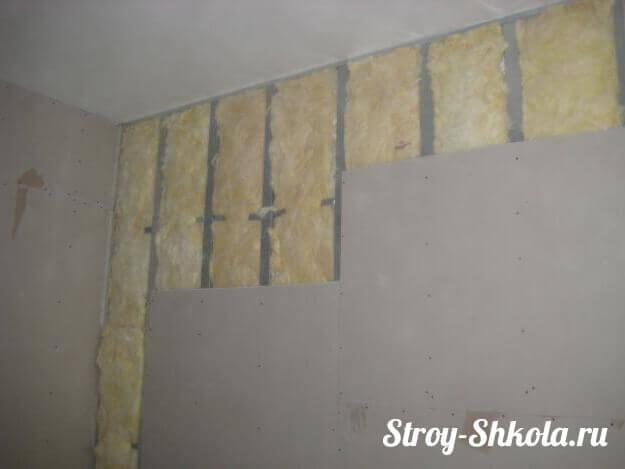 Обшиваем стены с помощью гипсокартона