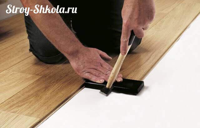 Как класть ламинат на балконе своими руками видео