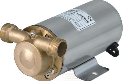 Центробежный насос для повышения давления с «сухим ротором».