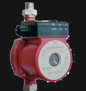 Центробежный насос для повышения давления с «мокрым ротором».