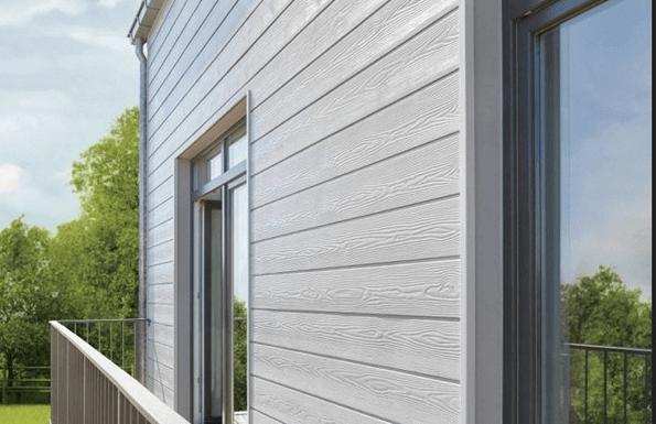 Вентилируемый фасад из самого обычного винилового сайдинга.