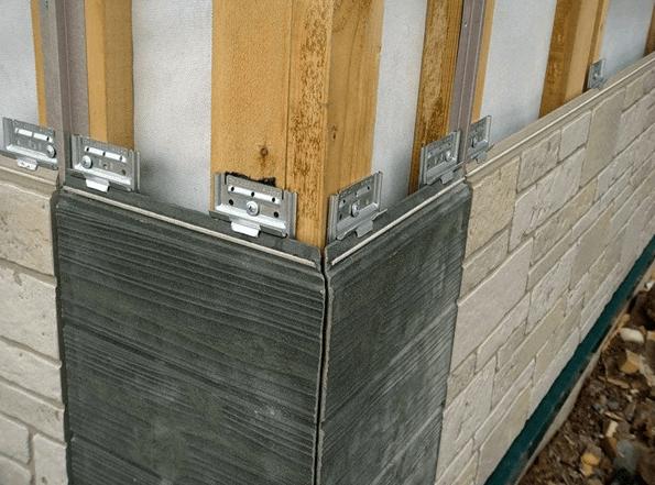 Так выглядят фасадные панели «под каменную кладку».