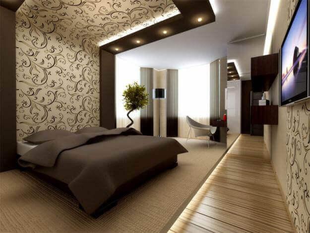 Акцент на спальном месте для большего уюта