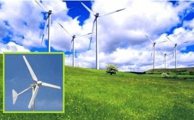 Так выглядят большинство современных ветрогенераторов.