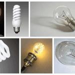 Виды лампочек и типы цоколей
