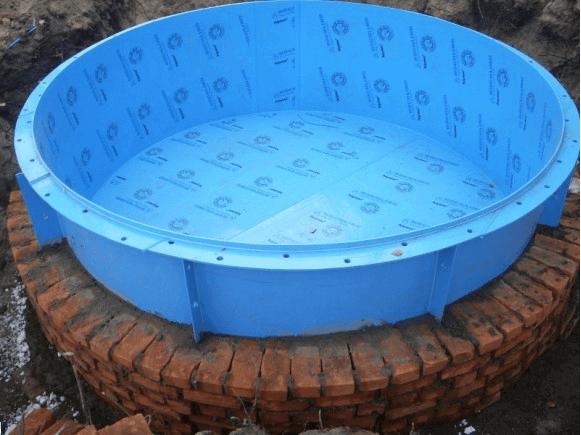 Пример полипропиленового бассейна