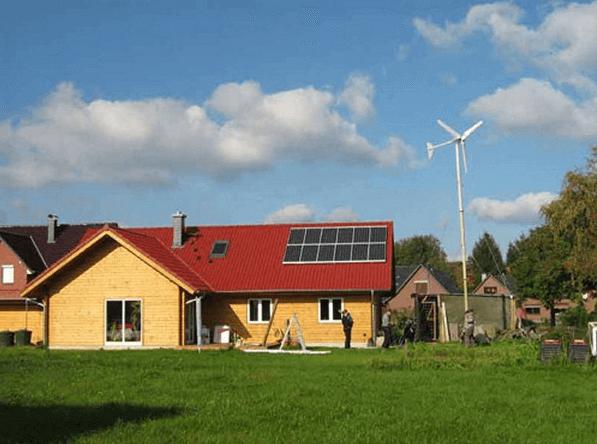 Пример энергонезависимого домохозяйства