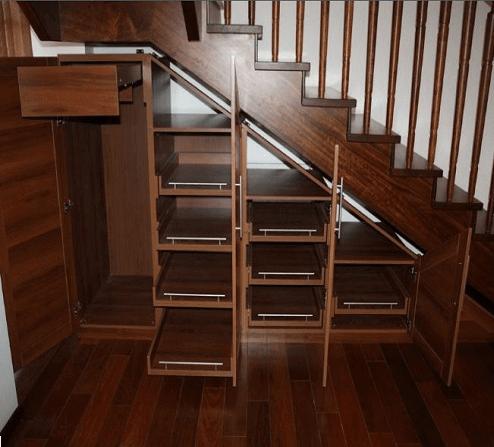 Пример конструкции самодельного шкафа из готовых элементов