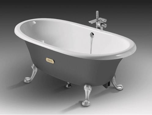 Так может выглядеть отреставрированная старая чугунная ванна