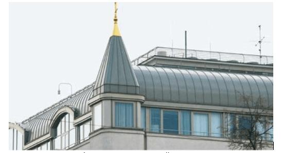 Стальная крыша с фальцевыми соединениями