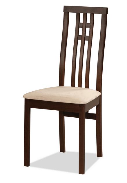 Наиболее распространенное устройство деревянного стула