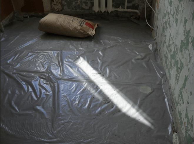 Гидроизоляция с припуском на стены