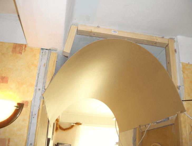 Дверные арки из фанеры
