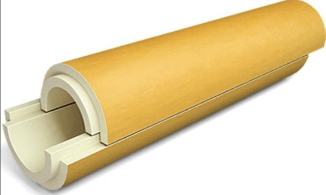 Скорлупа из пенополиуретана – лучший вариант для утепления дачного водопровода